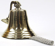 "Large ""Big Sale"" Brass Bell Motivational Salesroom Decor"