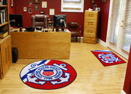 US Coast Guard Seal Round Ball Rug