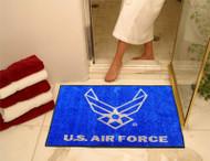 US AIR FORCE EMBLEM BATH TUB MAT RUG