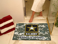 US Army Emblem Logo Bath Tub  Military Rug