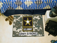 US Army Strong Starter Rug Door Mat Wall Hanging