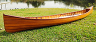 Cedar Wood Strip Built Canoe Wooden Ribs