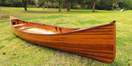 Cedar Strip Canoe Wooden Boat Woodenboat USA