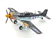 North American P-51 Mustang Metal Desk Model