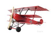 1917 Fokker Dr.1 Triplane Metal Desk Model