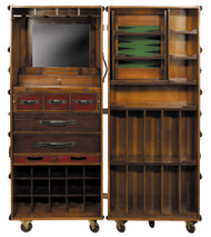 Stateroom Bar Ivory Steamer Travel Trunk Nautical