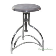 Clockmaker's Stool #3 Kitchen Chair Aluminum Adjustable