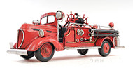 1938 Ford Fire Engine Truck Metal Model Automobile Decor