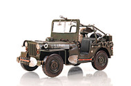 1940 Willys Overland Army Military Jeep Metal Model