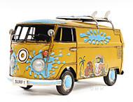 1967 Volkswagen VW Bus Metal Model Surf Boards