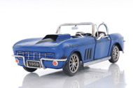 1960s Chevrolet Corvette Stingray Metal Car Model