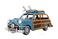 1949 Ford Station Wagon Woody Metal Car Model