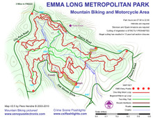 City Park (aka Emma Long) map