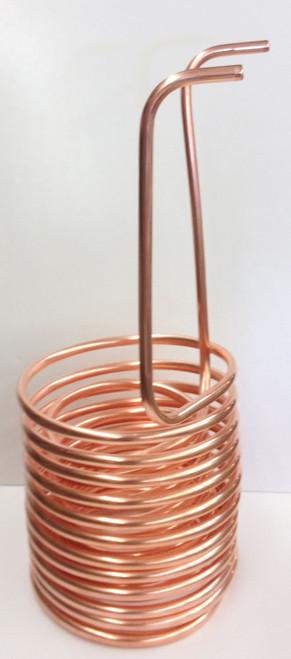 "1/2"" Double (Twin) Coil Copper Immersion Chiller"