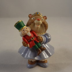 1995 nutcracker squirrel christmas merry miniature the ornament shop Nutcracker squirrel