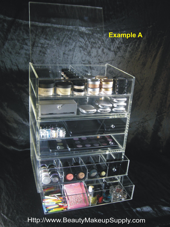 Acrylic Organizer Storage Drawer