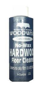 Woodwise 4oz Concentrate No-Wax Hardwood Cleaner