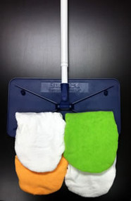 "Bona Hardsurface 8"" x 15"" Mop Starter Kit 4-Covers"
