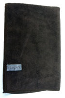 "Legacy 16"" x 24"" Brown Large Micro-Fiber Towel"