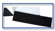 "1""x 6""Flexible Black Vinyl Gripper Strips"