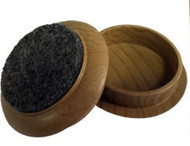 "Madico 1-3/4"" Plastic Woodgrain Effect Cups (felt base)"