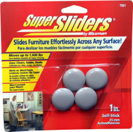 "Waxman 1"" Peel n Stick Furniture Super Sliders"