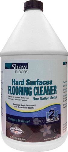 Shaw Hard Surface floor cleaner gallon