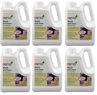 OSMO Wash and Care Concentrate 6 Pack of 33.8 fl oz Wood Cleaners