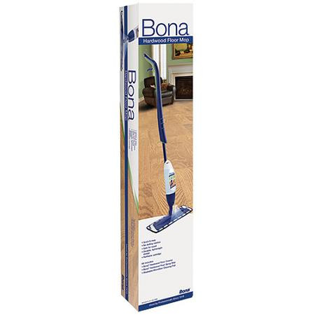 Bona Professional Series Hardwood Floor Spray Mop with 33oz Refillable Cartridge 4oz Concentrate WM710013408