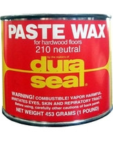 Duraseal Neutral 1 lbs Paste Wax