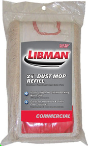 "Libman 24"" Commercial Dust Mop Refill"