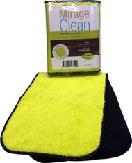 """Mirage Clean 4"""" X 15"""" Replacement  Mop Cover 3 Pack"""