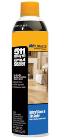Miracle Sealants 511 Spray-On Grout Sealer 15 oz Spray
