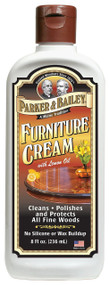 Parker & Bailey 8 oz Furniture Cream w/Lemon Oil