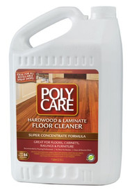 Poly Care Hardwood/Laminate Cleaner 1gl Concentrate