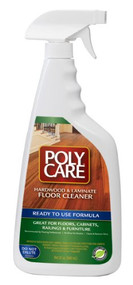 Poly Care Hardwood/Laminate Ready To Use Cleaner 32oz.Spray