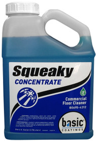 Squeaky cleaner concentrate by Basic Coatings Great cleaner for hardwood & Laminate floors