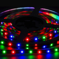 3528 multi color LED strip with RGB controller 9V