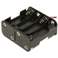 8*AA battery holder 12V