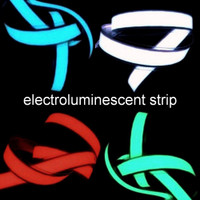 2 ft electroluminescent strip with lead & connector