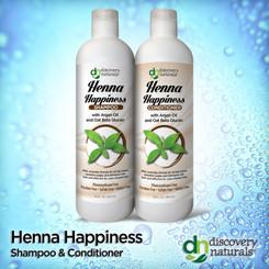 Henna Happiness Shampoo & Conditioner Combo Pack