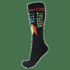 Wod Rest Repeat Sock