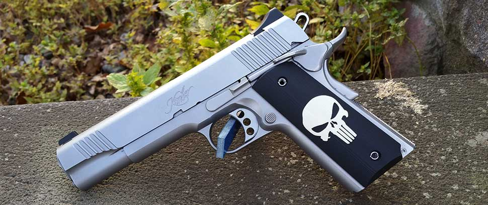1911 Punisher Inlay G10 Grips