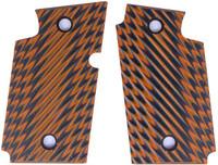 Sig P938 Ridgeback Orange Black G10