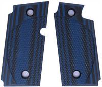 Sig P238 Checkered CC Blue Black G10
