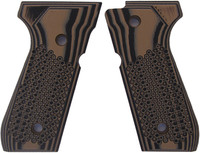 Beretta 92 Golfball Brown Black G10