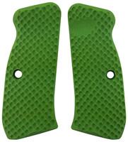 CZ 75 Palm Swell Bogies Neon Green G10