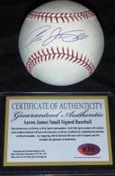 NY NEW YORK YANKEES Aaron James Small AUTOGRAPHED AUTO MLB BASEBALL ELITE COA
