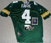 GREEN BAY PACKERS BRETT FAVRE MVP 3 AUTOGRAPHED AUTO REEBOK JERSEY FARVE COA TAG