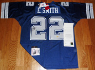 EMMIT SMITH SIGNED DALLAS COWBOYS Mitchell & Ness M&N JERSEY UPPER DECK UDA COA